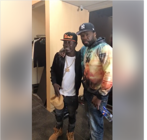 Shatta Wale Hangs Out With American Rapper 50 Cent-Photo – e