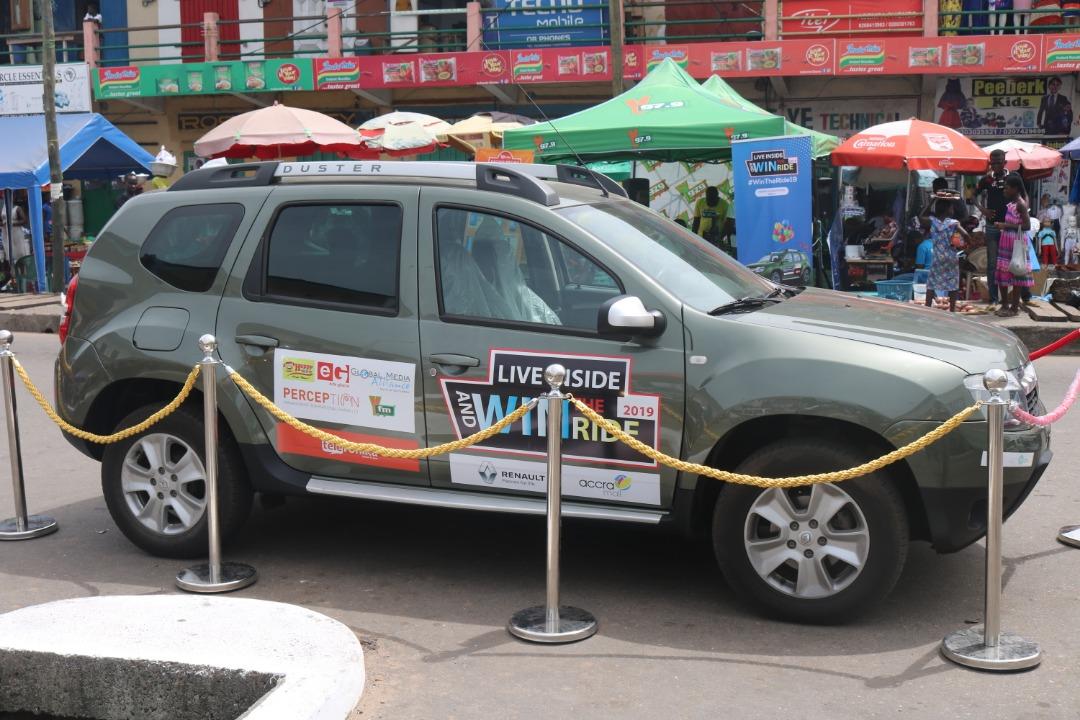 Live Inside and Win The Ride' Train Moves to Takoradi – e TVGhana