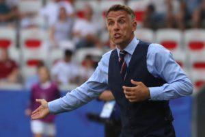 Racist abuse: footballers should boycott social media, says Phil Neville