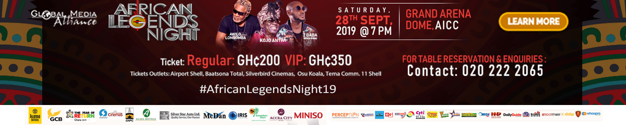 AFRICAN LEGENDS NIGHT 2019
